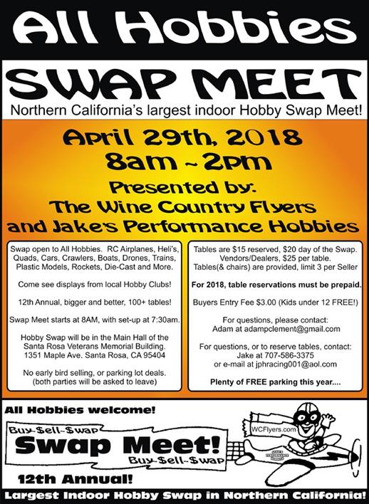 Hobby Swap meet 2018