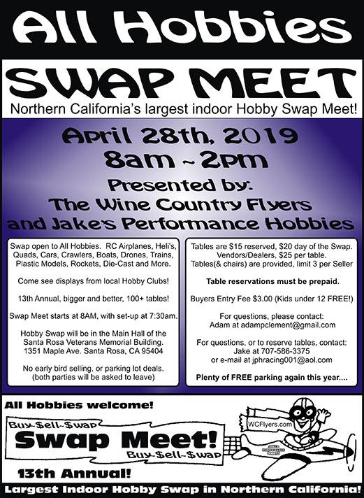 Hobby Swap meet 2019