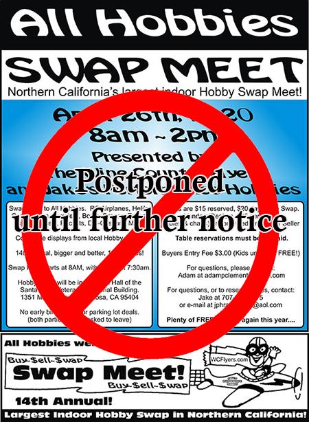 Hobby Swap meet 2020