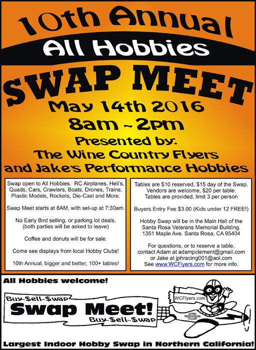 Hobby Swap meet 2016