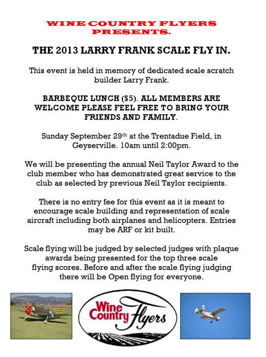 Larry Frank 2013
