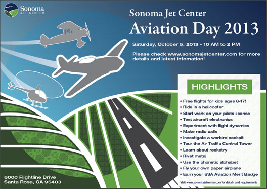 Sonoma Jet Center open day